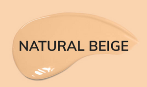 natural beige color of perfect cover foundation