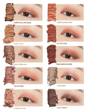 Load image into Gallery viewer, shades of Etude House play color eyes caffeine holic | K-Beauty Blossom USA
