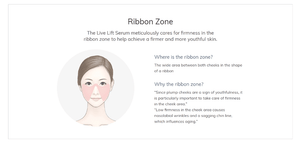 IOPE lifting serum is great for ribbon zone