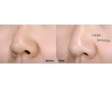 Load image into Gallery viewer, Before & after using MAMONDE Pore Clean Blackhead Stick