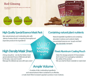 Bests of Ja Yeon Mapping Red Ginseng Essence Mask