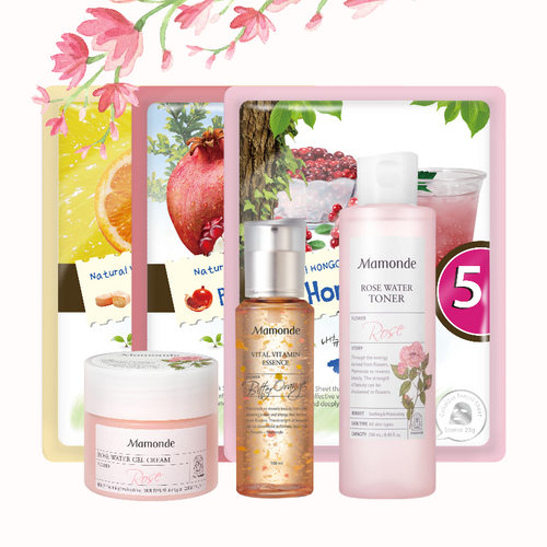 Mamonde skincare set for oily/ combination skin | K-Beauty Blossom USA
