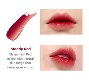 Laneige Layering lip bar Moody red color