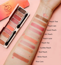 Load image into Gallery viewer, colors of ETUDE HOUSE Play Color Eyes Peach Farm K-Beauty Blossom USA