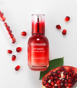 Main ingredients of mamonde red energy recover serum | K-Beauty Blossom USA