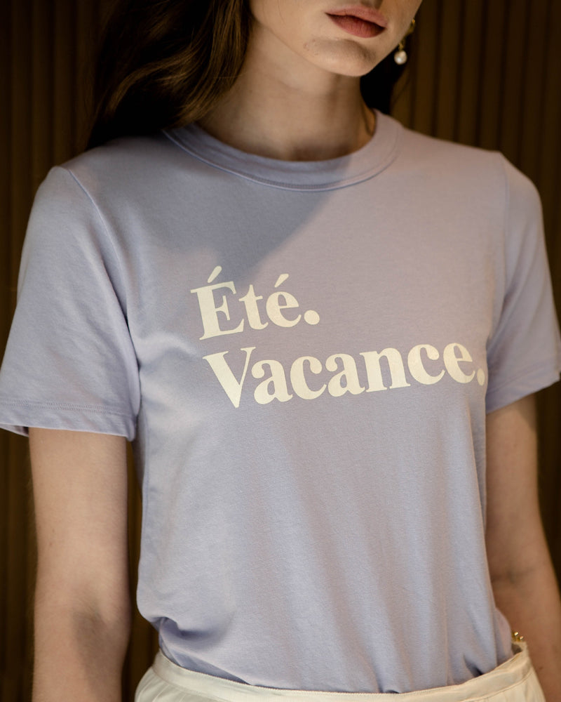 Lilac Summer Vacation T-Shirt