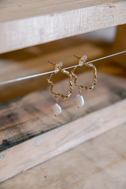 Catalina Pearl Drop Earrings