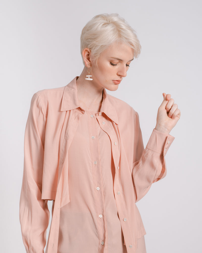 Pink Layered Shirt