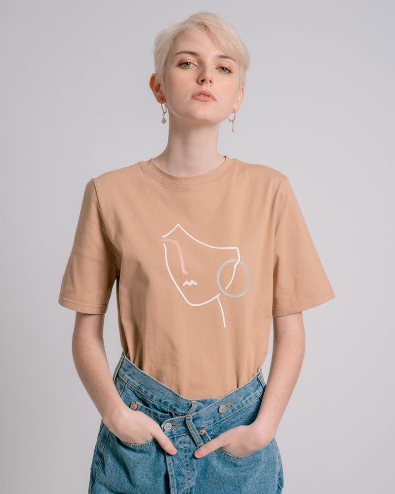 Sand Graphic Print T-shirt