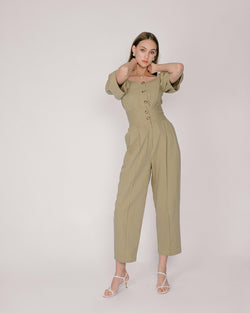 Sage High-Waisted Pants