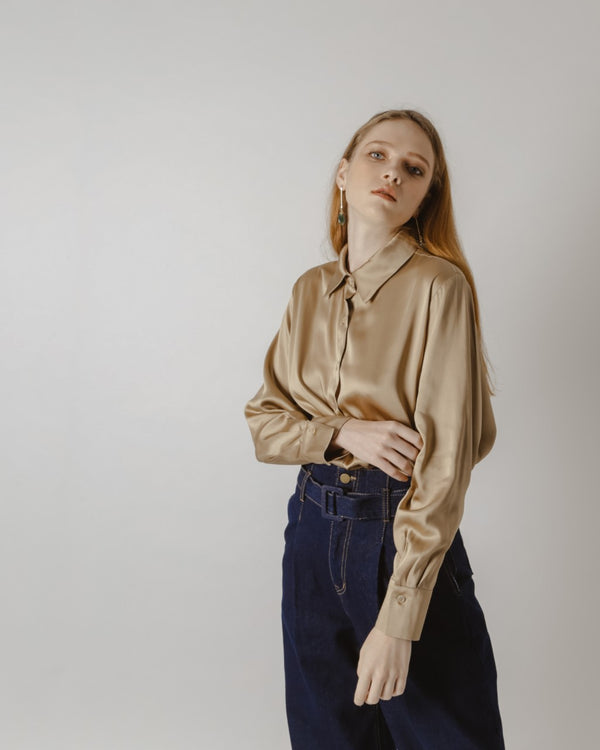 Silky Bronze Shirt