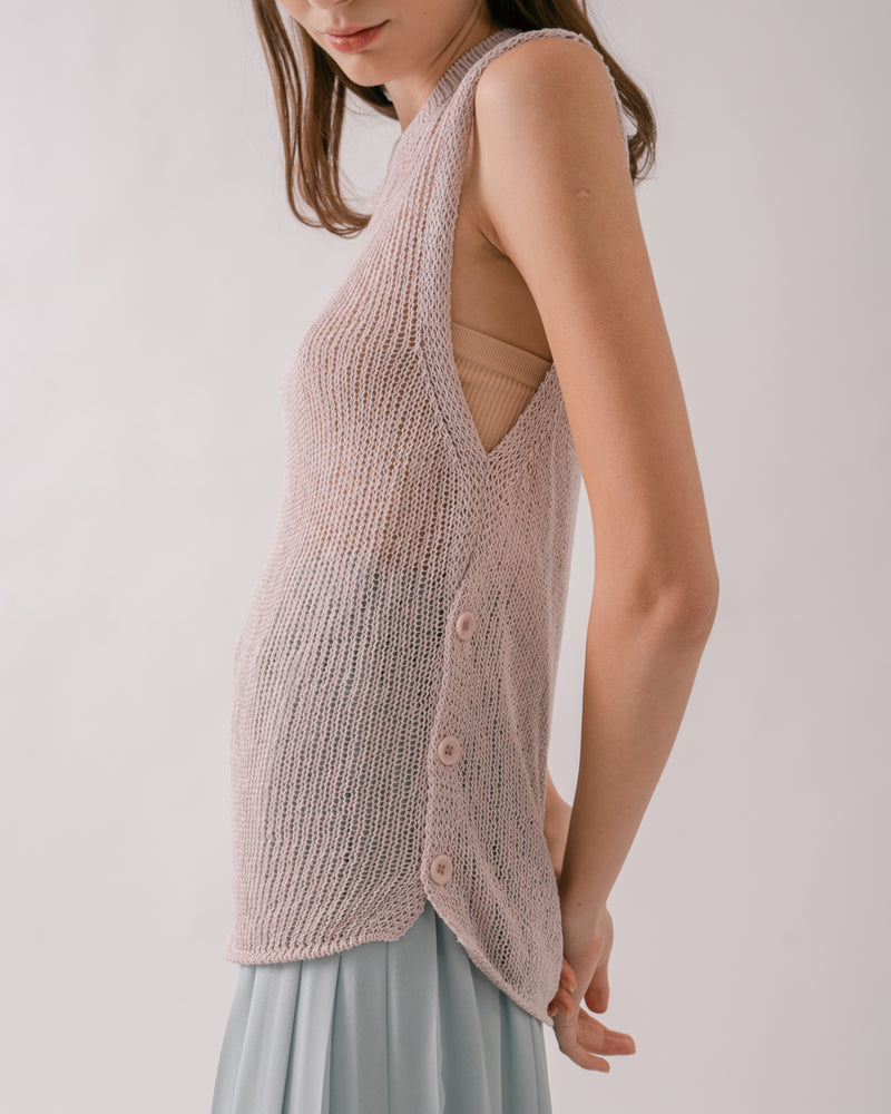 Lilac Knit Top