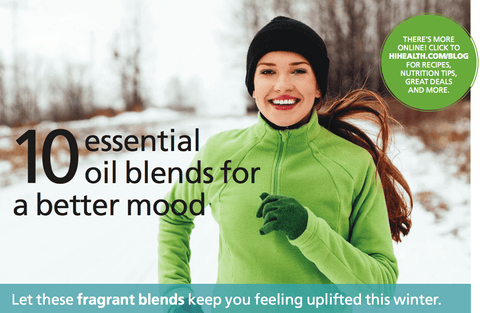 10 essential oil blends for a better mood