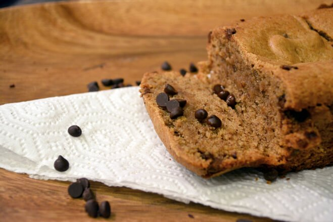 Chocolate Chip Banana Bread with Coconut Oil Ingredient