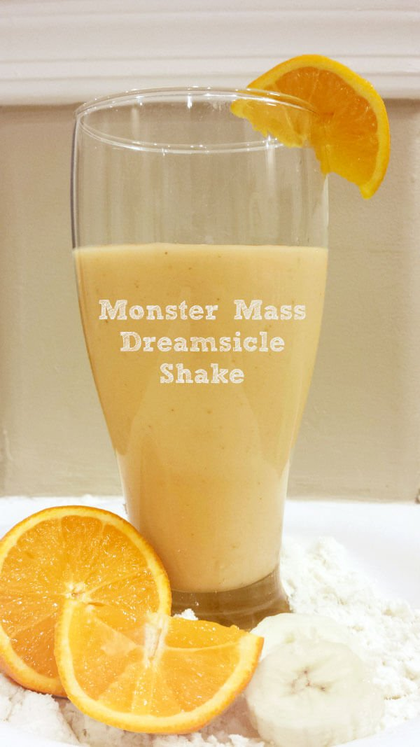 Orange Creamsicle Monster Mass Protein Shake Recipes