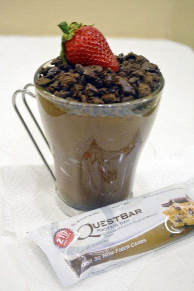 Quest Bar Chocolate Pudding Dirt Cups
