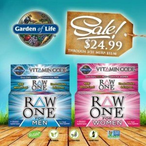 Vitamin Code RAW ONE for Men & Women