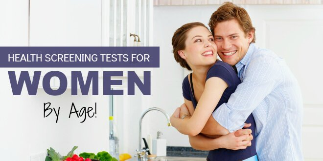 Health Screening Tests for Women by Age