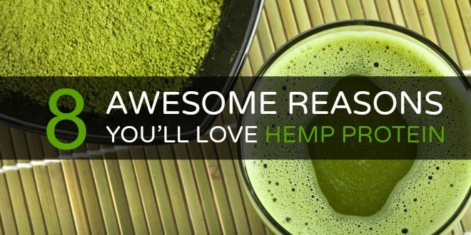 Awesome reasons you'll love hemp protein