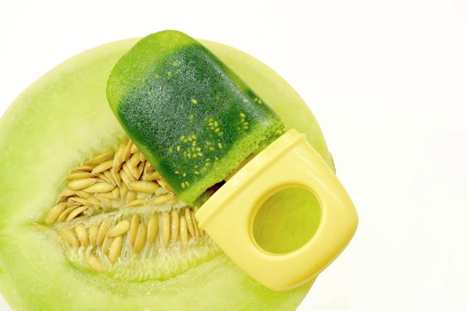 Honeydew Melon Chia Seed Popsicle Recipes