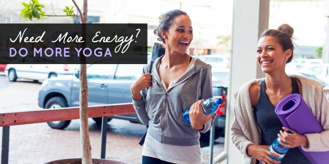 Wake up with yoga to increase energy