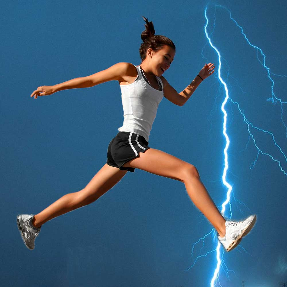 Your body teems with electricity