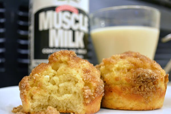 Muscle Milk Recipes: Cinnamon Vanilla Creme Muffins