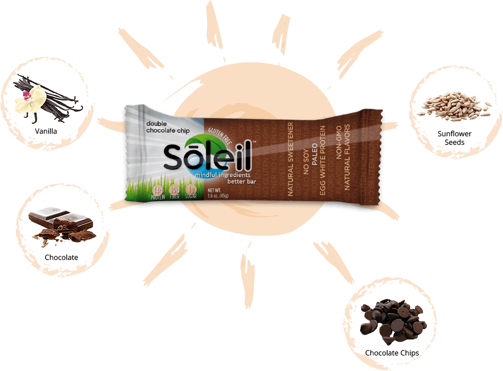 Soleil Bar Ingredients
