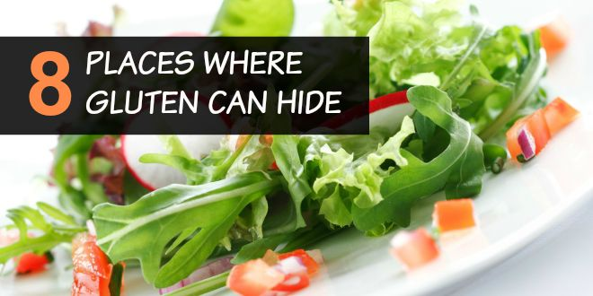 where gluten can hide
