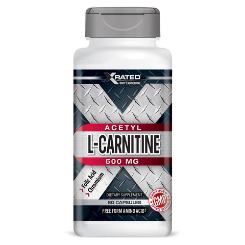 Xrated Body Engineering Acetyl L-Carnitine 500mg (60 capsules)