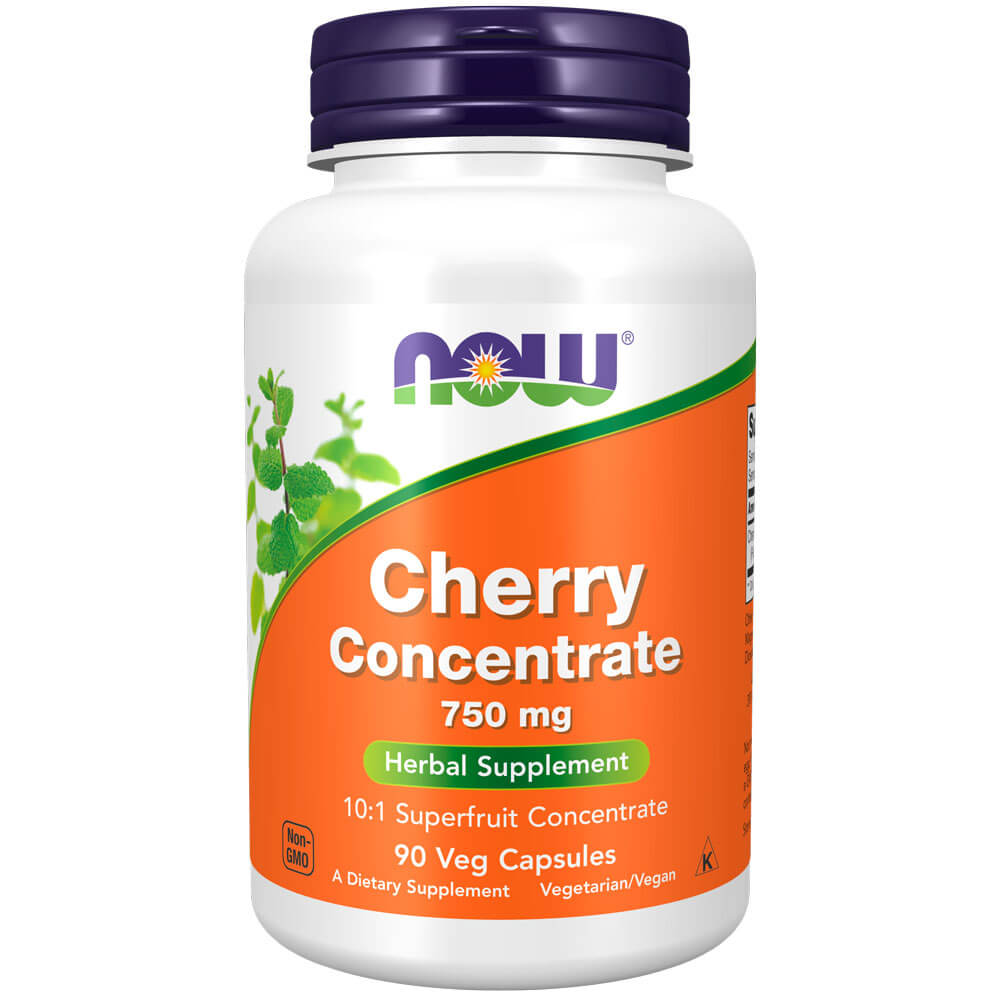 NOW Cherry Concentrate 750mg (90 veg capsules)