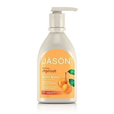 JASON Pure Natural Body Wash - Glowing Apricot (30 fl oz)