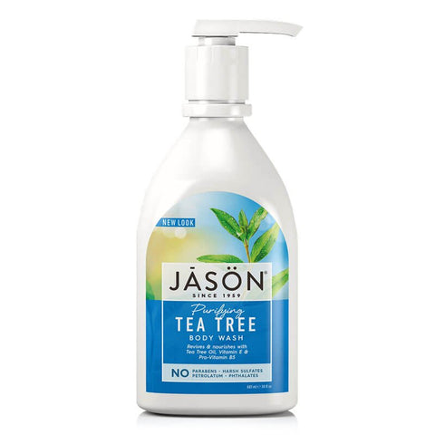 Jason Shower Purifying Tea Tree Body Wash (30 fl oz)