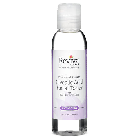 Reviva Labs Glycolic Acid Facial Toner (4 fl oz)