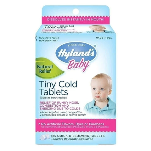 Hyland's Baby Tiny Cold Tablets (125 tablets)