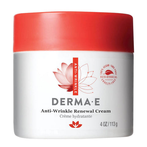 Derma E Anti-Wrinkle Renewal Cream (4 oz)