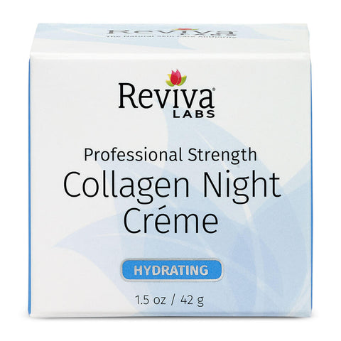 Reviva Labs Collagen Night Creme (1.5 oz)
