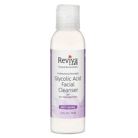 Reviva Labs Glycolic Acid Facial Cleanser (4 fl oz)