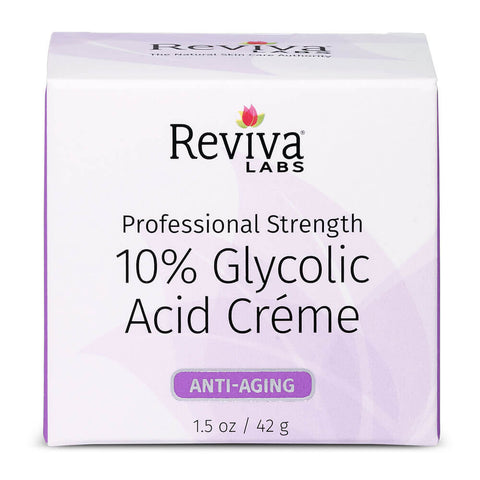 Reviva Labs 10% Glycolic Acid Creme (1.5 oz)