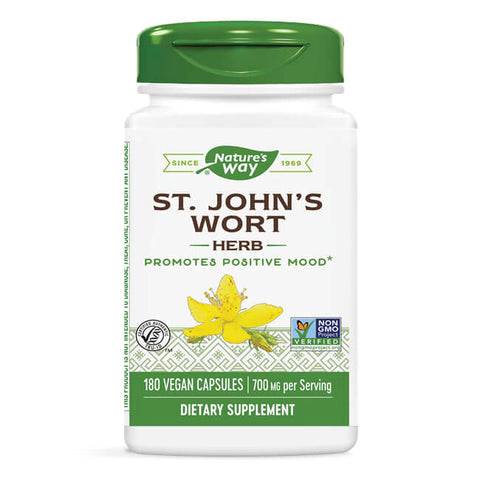 Nature's Way St. John's Wort Herb (180 capsules)