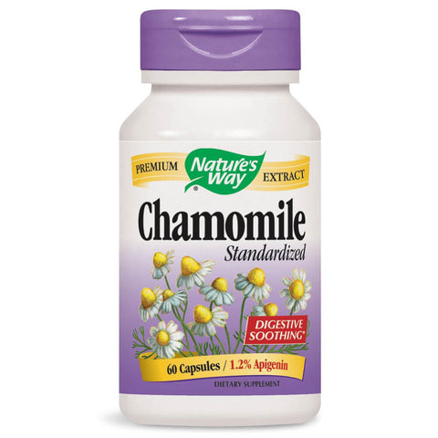 Nature's Way Chamomile, Standardized (60 capsules)