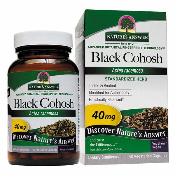 Nature's Answer Black Cohosh 40mg (60 capsules)