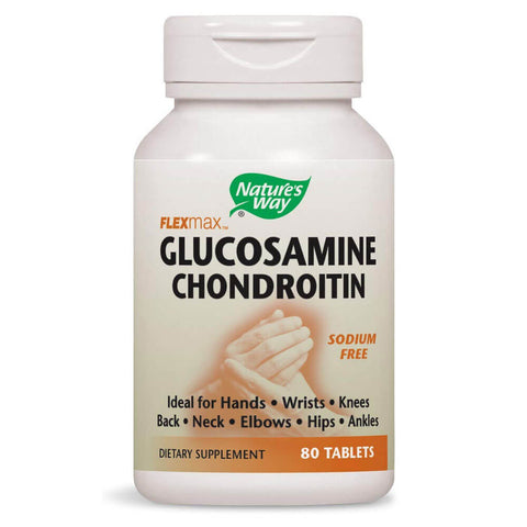 Nature's Way FlexMax Glucosamine Chondroitin (80 tablets)