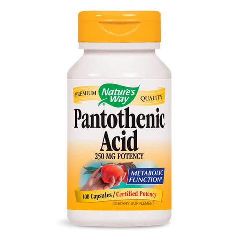 Nature's Way Pantothenic Acid (100 caps)