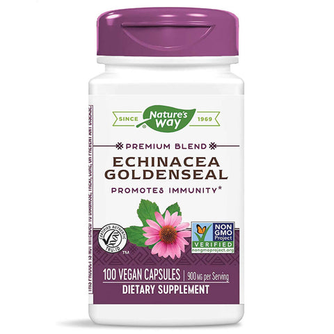 Nature's Way Echinacea-Goldenseal (100 capsules)