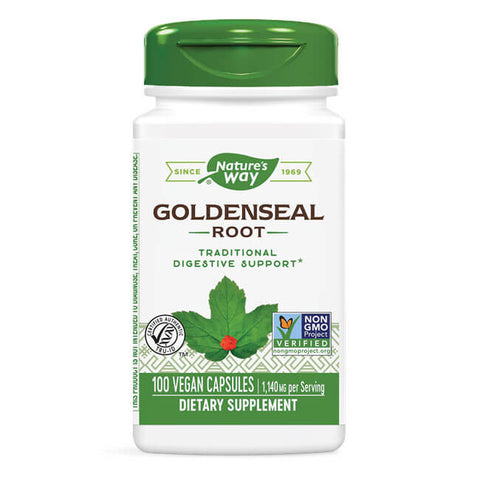 Nature's Way Goldenseal Root (100 capsules)