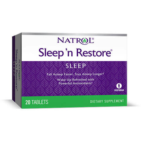 Natrol Sleep 'N Restore (20 tablets)