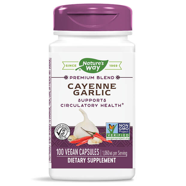Nature's Way Cayenne Garlic (100 capsules)