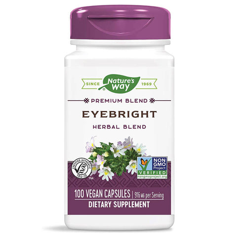 Nature's Way Eyebright Herbal Blend (100 capsules)