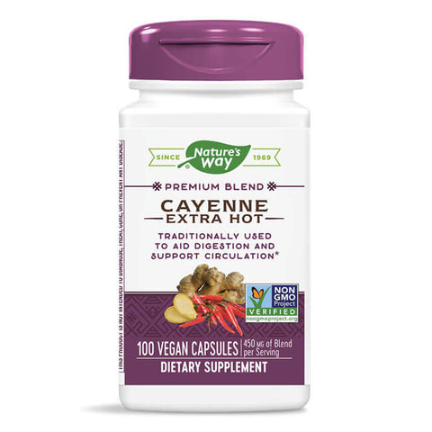 Nature's Way Cayenne Extra Hot (100 capsules)